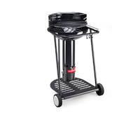 barbecook Holzkohlegrill Major Black Go