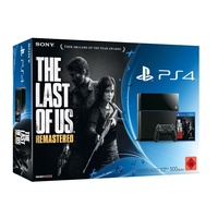 Sony PS4 500GB + The Last of Us: Remastered (Bundle)