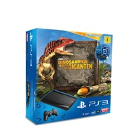 Sony PS3 Super Slim 12GB + Move Starter Pack + Wonderbook: Dinosaurier - Im Reich der Giganten (Bundle)