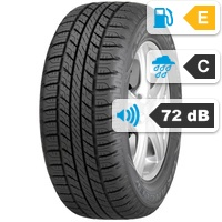 Goodyear Wrangler HP All Weather SUV 275/55 R17 109V