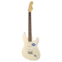 Fender American Standard Stratocaster RW OW olympic white