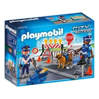 Playmobil City Action Polizei-Straßensperre (6878)