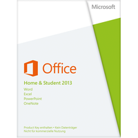 Microsoft Office Home and Student 2013 PKC DE Win