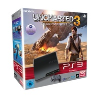Sony PS3 Slim 320 GB + Uncharted 3: Drake's Deception (Bundle)