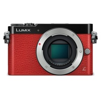 Panasonic Lumix DMC-GM5K rot + 12-32mm OIS