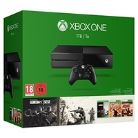 Microsoft Xbox One 1TB + Rainbow Six: Siege + Vegas 1 & 2 (Bundle)