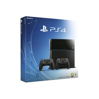Sony PS4 500GB + 2x Dualshock 4 Controller