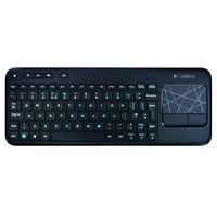 Logitech Wireless Touch Keyboard K400 DE schwarz (920-003100)