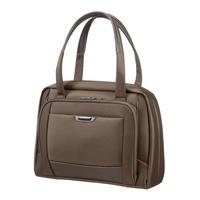 "Samsonite Pro-DLX4 Female Business Tote 16"" tobacco"