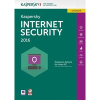 Kaspersky Lab Internet Security 2016 UPG 3 User FFP DE Win