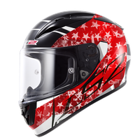 LS2 FF323 Arrow R Stride Black/Red