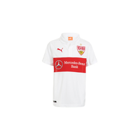 Puma VfB Stuttgart Kinder Heim Trikot 2014/2015 white/team regal red Gr. 128