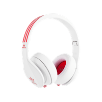 Monster Cable Adidas Originals Over-Ear weiß / rot