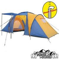 Monkey Mountain Family Mountain II yellow/blue
