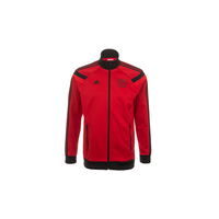 Adidas Bayer 04 Leverkusen Herren Anthem Jacke 2014/2015 scarlet/black/red XL