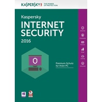 Kaspersky Lab Internet Security 2016 3 User DE Win