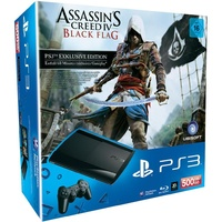 Sony PS3 Super Slim 500GB + Assassin's Creed IV: Black Flag (Bundle)