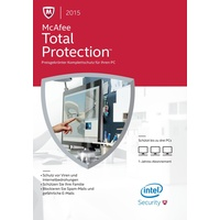 McAfee Total Protection 2015 UPG 3 User DE Win