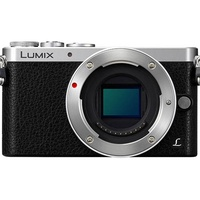 Panasonic Lumix DMC-GM1K silber + 12-32mm OIS