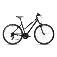 Cube Curve 28 Zoll RH 50 cm Damen black/grey/white 2016
