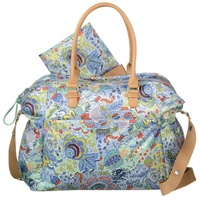 Oilily Baby Bag Denim Botanical Garden