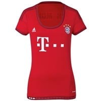 Adidas FC Bayern München Damen Heim Trikot 2015/2016 fcb true red/craft red S
