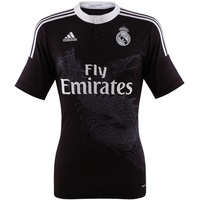 Adidas Real Madrid Herren 3rd Trikot 2014/2015 black/white XL