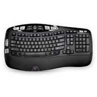 Logitech Wireless Keyboard K350 DE schwarz (920-004484)