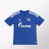 Adidas FC Schalke 04 Kinder Heim Trikot 2014/2015 bold blue/night blue/white Gr. 128