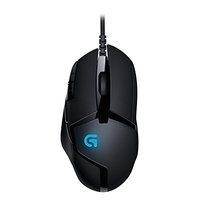 Logitech G402 Hyperion Fury FPS Gaming Mouse schwarz