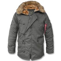 Alpha Industries Winterparka Explorer N3B rep. grey XXL
