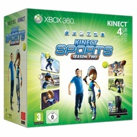Microsoft Xbox 360 Slim 4GB + Kinect + Kinect Adventures + Kinect Sports: Season 2 (Bundle)
