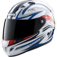 Schuberth SR1 Racing Line White/Red/Blue