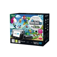 Nintendo Wii U Premium Pack 32GB schwarz + New Super Mario Bros. U + New Super Luigi U (Bundle)