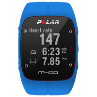 Polar Pulsuhr M400 HR blue