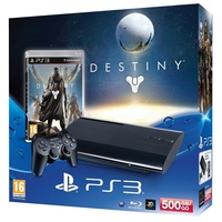 Sony PS3 Super Slim 500GB + Destiny (Bundle)