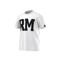 Adidas Real Madrid Herren Core T-Shirt chalk white/black XL
