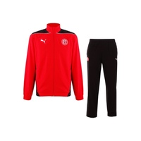 Puma Fortuna Düsseldorf Kinder Trainingsanzug puma red/black Gr. 164