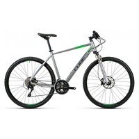 Cube Cross Pro 28 Zoll RH 54 cm silver/grey/green 2016