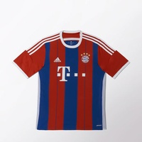 Adidas FC Bayern München Kinder Heim Trikot 2014/2015 fcb true red/collegiate royal/white Gr. 176