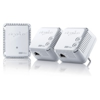 devolo dLAN 500 WiFi Network Kit 500Mbps (3 Adapter)