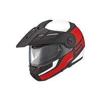 Schuberth E1 Guardian Klapphelm Red