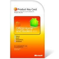 Microsoft Office Home and Student 2010 PKC DE Win