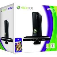 Microsoft Xbox 360 Slim 4GB + Kinect +  Kinect Adventures (Bundle)