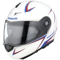 Schuberth C3 Pro Spike White/Red/Blue
