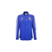 Adidas Real Madrid Herren Anthem Jacke 2014/2015 bold blue/white/collegiate navy L