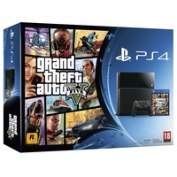 Sony PS4 500GB + Grand Theft Auto 5 (Bundle)