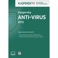 Kaspersky Lab Anti-Virus 2015 Mini-Box DE Win