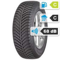 Goodyear Vector 4Seasons 205/50 R17 89V