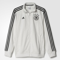 Adidas DFB Herren 3 Streifen Trainingsjacke EM 2016 off white/black S